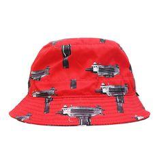 $45 Uzi Bucket Hat (Red)