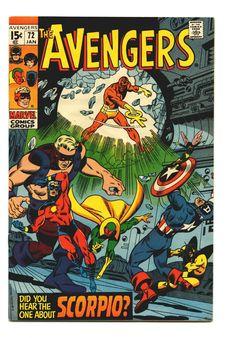 Avengers #72.