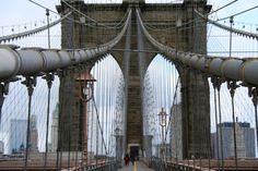 Grand Photo New York Art, Brooklyn Bridge, Travel, Viajes, Destinations, Traveling, Trips