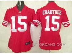 http://www.bejordans.com/free-shipping-60-off-nike-women-nfl-jerseys-san-francisco-49ers-15-crabtree-red.html FREE SHIPPING ! 60% OFF! NIKE WOMEN NFL JERSEYS SAN FRANCISCO 49ERS #15 CRABTREE RED Only $20.00 , Free Shipping!