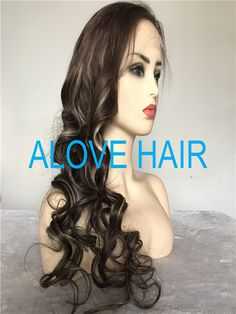 ae2d5b5ed Wholesale high quality full lace wigs with bangs - China lace wigs factory .