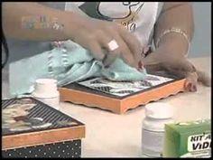 Veja passo-a-passo de criação de uma caixa decorada para páscoa com a artesã Marisa Magalhães, utilizando Kit Aqua Vidro e outros produtos da Aquarela Brasil.