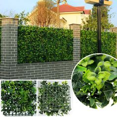 Artificial Fence 48pcs artificial bushes foliage 25cm*25cm plants fake leaves synthetic grass mat for DIY garden-G0602A009B