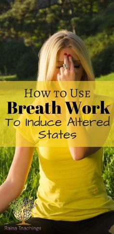 How to induce an altered state by using breath work | rainateachings #alteredstates #healing #breathwork #meditation Daily Meditation, Healing Meditation, Meditation Practices, Meditation Music, Mindfulness Meditation, Meditation Sounds, Simple Meditation, Breathing Meditation, Meditation Space