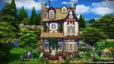 Frau Engel: Witch House • Sims 4 Downloads