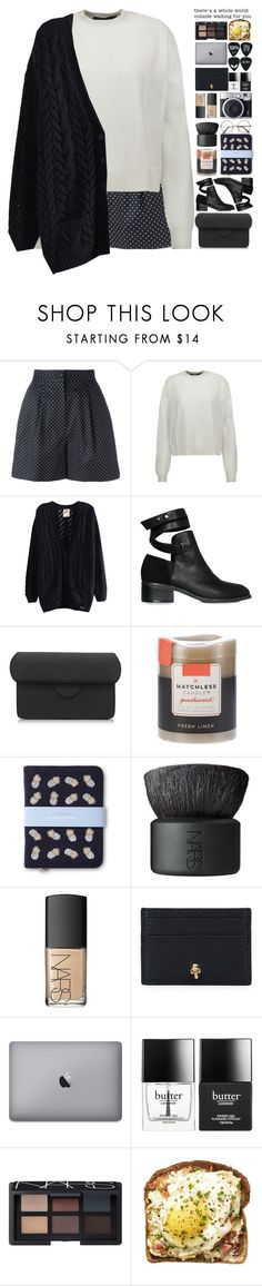 """Cause the hardest part of this is leaving you."" by arcano ❤ liked on Polyvore featuring Dolce&Gabbana, Haider Ackermann, Nly Shoes, Roksanda, Matchless Candle Co., Elizabeth Scarlett, NARS Cosmetics, Fujifilm, Alexander McQueen and Butter London"
