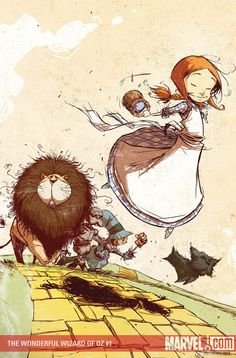 The Wonderful Wizard of Oz #1//Skottie Young/X - Y - Z/ Comic Art Community GALLERY OF COMIC ART