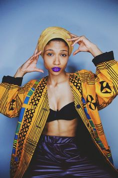 Hip-Hop Africa Street Afro Punk Fashion, High Fashion, Coloured Girls, My Tumblr, African Dress, Beautiful Patterns, African Fashion, Style Inspiration, My Style