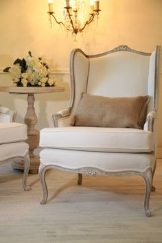 French Armchair Louis XV in perfect condition, after a complete renovation from the middle of the twentieth century. Armchair Ludwik XV hand-painted w. French Furniture, Classic Furniture, Rustic Furniture, Home Furniture, Furniture Design, Furniture Online, Luxury Furniture, French Sofa, French Chairs