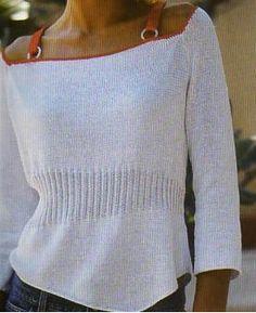 [Tricot] Le petit pull aux bretelles - La Boutique du Tricot et des Loisirs Créatifs
