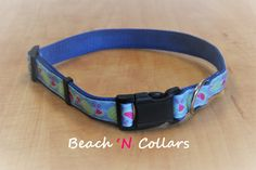 Watermelon Dog Collar by Beachcollars on Etsy