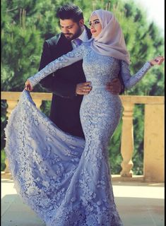 Long Sleeves Lace Mermaid Muslim Wedding Dresses Elegant Islamic Evening Gowns_Evening Dresses Dresses_Special Occasion Dresses_Buy High Quality Dresses from Dress Factory