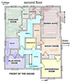 1000 images about home future b b on pinterest floor - Bed and breakfast design floor plans ...