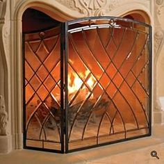victoria beveled glass fireplace screen pinterest glass rh pinterest com clear beveled glass fireplace screen beveled glass fireplace screens