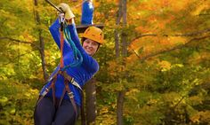 Groupon - Camp Fortune  - Camp Fortune : C$38 for a Three-Hour Zipline Adventure for Two at Camp Fortune (Up to C$70 Value)