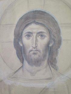 Byzantine Icons, Byzantine Art, Religious Icons, Religious Art, Good Shepard, Jesus Art, Jesus Christ, Albrecht Durer, Art Icon