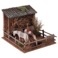 1 million+ Stunning Free Images to Use Anywhere Putz Houses, Christmas Crib Ideas, Christmas Crafts, Miniature Crafts, Miniature Houses, Foam Carving, Nativity Stable, Toy Barn, Christmas Nativity Scene
