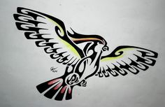 Tribal Pidgeot by Esmeekramer on DeviantArt Pokemon Tattoo, Tribal Tattoo Designs, Tribal Tattoos, Tribal Pokemon, Nerd Room, Tribal Animals, Pokemon Pictures, Tribal Art, Tattoo Drawings
