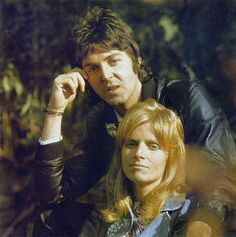 Paul and Linda McCartney