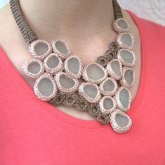 Statement seaglass necklace bib 18 sea glass Weddings by astash, $140.00