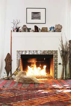 Fireplace is a must-have