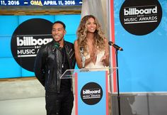 Ludacris and Ciara,