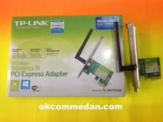 TPLINK WN 781nd Wireless PCI Express Card  , pci express adapter , 150mbps