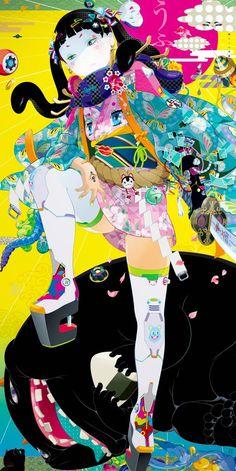 Hiroyuki-Takahashi #Pixiv Illustration