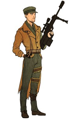 RJ with a modern sniper rifle Maccready Fallout, Fallout 4 New Vegas, Fallout Fan Art, Fallout Concept Art, Fallout 4 Companions, Fall Out 4, Post Apocalypse, Game Art, Art Reference
