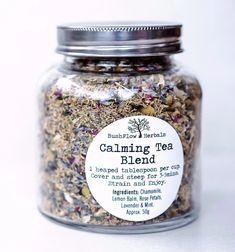 Best Herbal Tea, Herbal Teas, Lemon Balm Tea, Calming Tea, Chamomile Tea, Tea Packaging, Organic Herbs, Tea Blends, Recipes