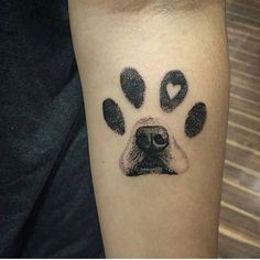 Outstanding paw print dog tattoo designs on your arm to match your inks . - Superb Paw Print Dog Tattoo Designs On Your Arm To Make Your Inks … – Super Cool Tattoos – - Meaningful Tattoos For Women, Temporary Tattoo Designs, World Tattoo, Tattoo Trends, Body Art Tattoos, Tattoo Ink, Dog Paw Tattoos, Tattoo For Dog, Paw Print Tattoos