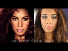 ▶ Leona Lewis Inspired Makeup Tutorial - YouTube