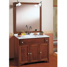 mobile bagno classico | bagni in arte povera | pinterest - Arredo Bagno Caravaggio