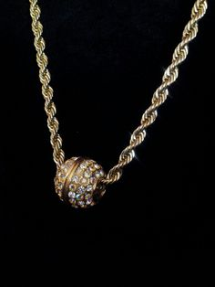 Vintage+14k+gold+filled++long+barrel+chain+by+SecondChanceBling,+$18.00