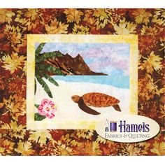 Items similar to Cantik Batik Quilt Kit Tropical Islands Shania Sunga Designs on Etsy Batik Quilts, Quilted Wall Hangings, Dogs Golden Retriever, Quilt Kits, Quilt Top, Rainbow Colors, Turtle, Islands, Tropical