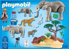 PLAYMOBIL 5275 - WWF-Forscher bei afrikanischen Savannentieren: Amazon.de: Spielzeug