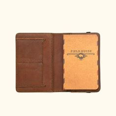 Buffalo Jackson Trading Dakota Leather Field Notes Cover with Card Holders My Wallet, Passport Wallet, Simple Summer Outfits, Field Notes, Best Gifts For Men, Field Guide, Waxed Canvas, Leather Cover, Vintage Leather