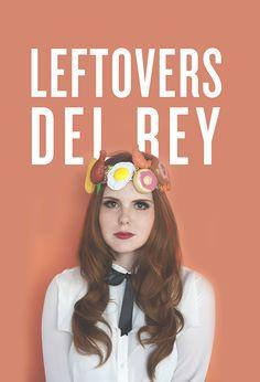 Left Overs Del Rey, Lana del Rey #halloween costume // The Kitchy Kitchen
