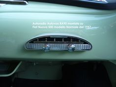 Autovox RA90 & Fiat Nuova 500 N (1957)