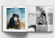 Wedding Album Cover, Wedding Album Layout, Wedding Album Design, Wedding Photo Books, Wedding Photo Albums, Wedding Book, Digital Photo Album, Photography Sketchbook, Photo Thank You Cards