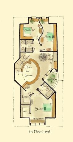 Eurpean House Plan Corazon III - aboveallhouseplans.com | Cool ...