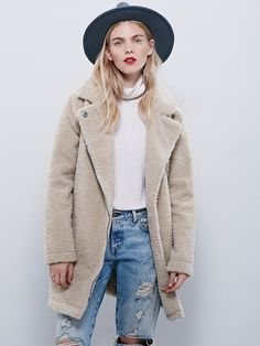 Free People Teddy Coat at Free People Clothing Boutique