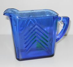 Antiques for Today's Lifestyle: Cobalt Blue Depression Glass