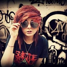 emo girl with sunglasses | Recent Photos The Commons Getty Collection Galleries World Map App ...