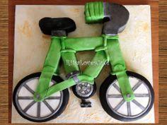 Bicycle cake Bicycle Cake, Car Cakes, Transportation