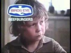 Bird's Eye Beef Burgers - Classic UK TV Advert