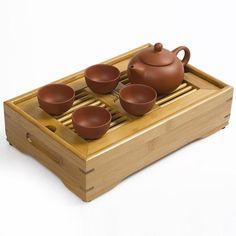 Wholesale Coffee & Tea Sets - Buy Wholesale-JiaLe Drinkware ZiShaTea Servic,27*17*6.5CM BambooTea Tray,Teapot,Tea Ceremony,Mini-Tea Set Travel High-Quality, $73.21 | DHgate