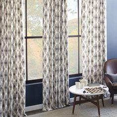 Cotton Canvas Bazaar Curtain – Platinum   West Elm $39