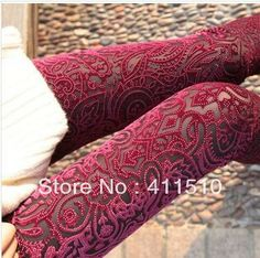 $9 Free Shipping New Arrival 3 Colors For Women Fashion Hollow Gold Velvet Leggings Love  Warm Pants With High Quality  K572