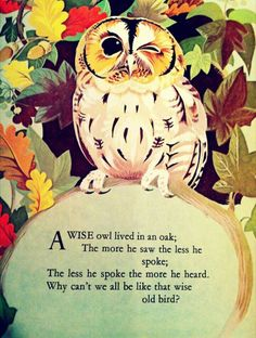 Saturday, April 12: Speak less. Listen more. Let owl be your ally to guide you into deeper listening. Let the inside world enliven you and inform you of the deeper truths and help you see through illusions in the outside world.